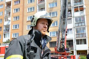 Tomáš Berzetei. Šéfuje hasičom v Košiciach a na okolí.