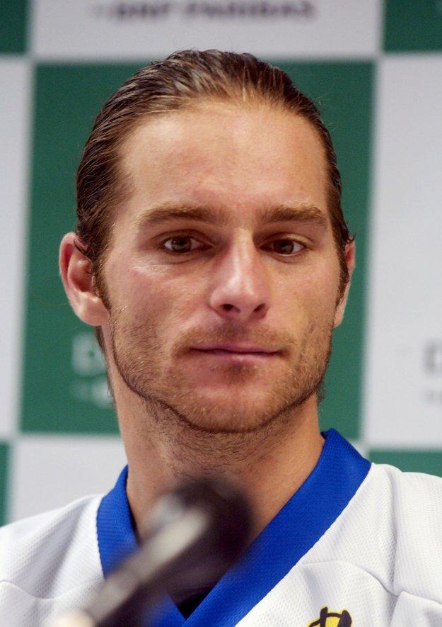 Ivo Klec je aj bývalým daviscupovým reprezentantom.