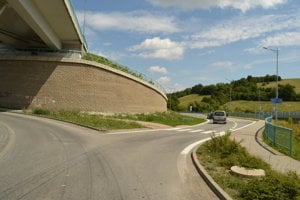Nová príjazdová cesta do Prešova je už otvorená.