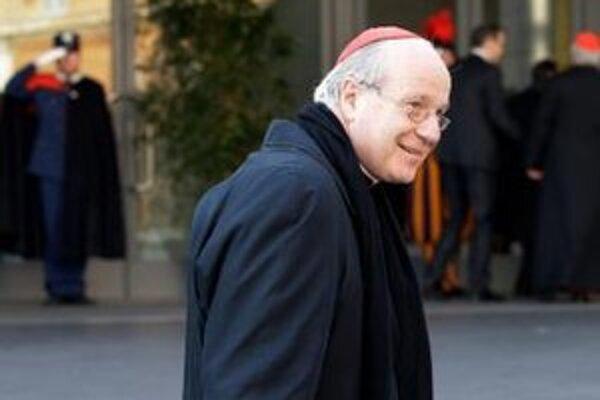 Rakúsky kardinál Christoph Schönborn.