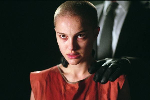 Natalie Portman vo filme V for Vendetta