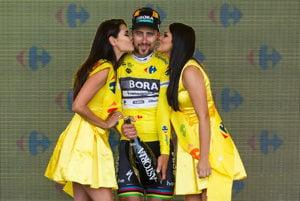 Peter Sagan si znova oblečie žltý dres pre lídra celkovej klasifikácie na Okolo Poľska.