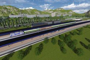 Vďaka prekládke trate by mal mať Liptovský Mikuláš novú stanicu.
