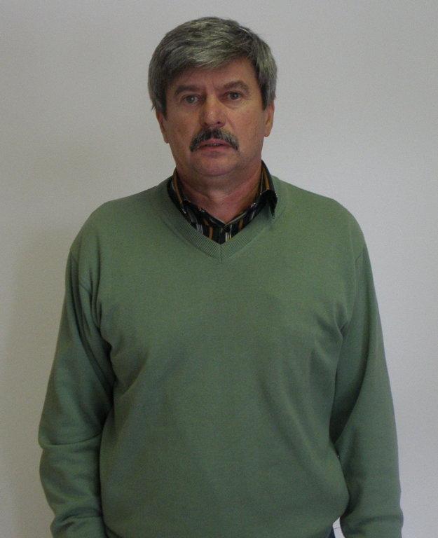Predseda AC Nové Zámky Štefan Straňovský.
