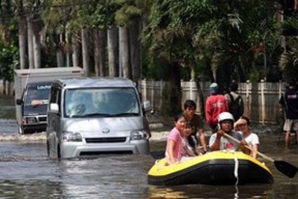 Záplavy v Jakarte