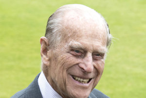 Britský princ Filip.