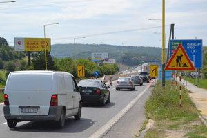Stavebné práce na príjazdovej ceste na diaľnicu D1 finišujú.