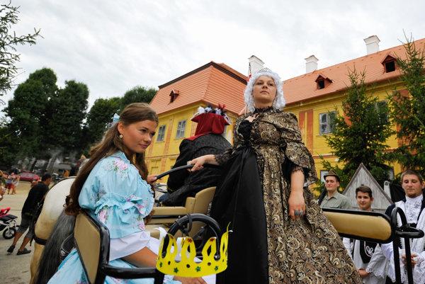 Mária Terézia v Chtelnici.