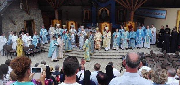 Hlavná svätá liturgia. Konala sa v nedeľu.