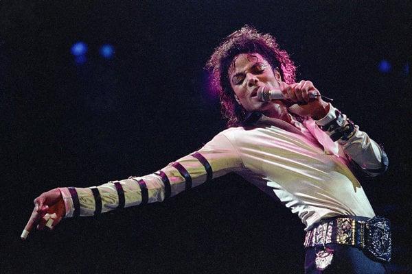 Micahel Jackson v 80. rokoch.