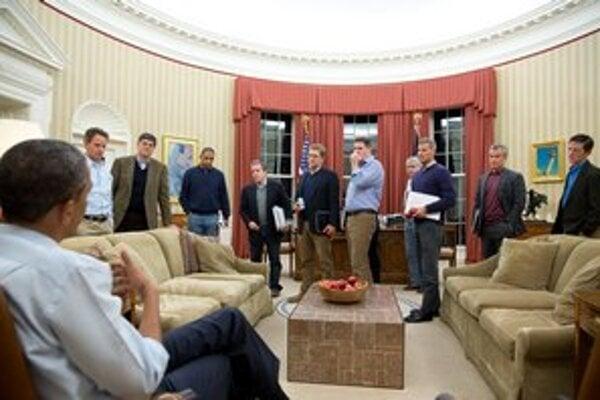 Medzi Obamových najbližších pracovníkov patrí len málo žien.
