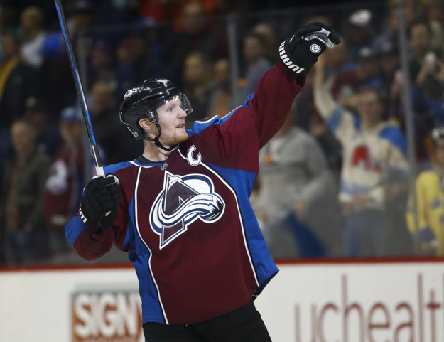 Gabriel Landeskog, kapitán klubu NHL COlorado Avalanche.