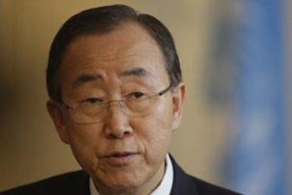 Generálny tajomník Organizácie Spojených národov Pan Ki-mun.
