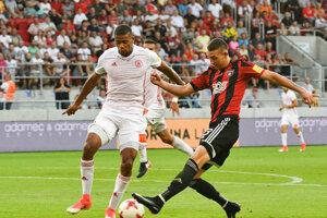 Tretie kolo Fortuna ligy. 5. augusta 2017. Spartak Trnava - AS Trenčín 2:1.