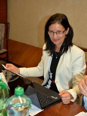 Mária Gamcová. Poslankyňa MČ KVP.