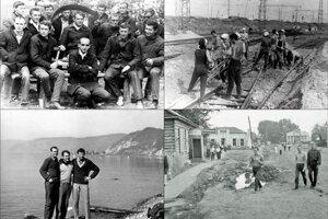 Z budovania železnice na Sibíri má František Daniel množstvo obrázkov, ktoré odprezentuje na besede.