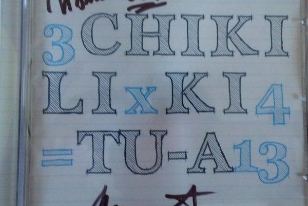 Obal CD Chiki liki tu-a 3x4=13.