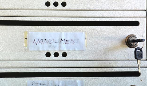 Sídlo firmy. Na Rampovej má iba korešpondenčnú schránku.