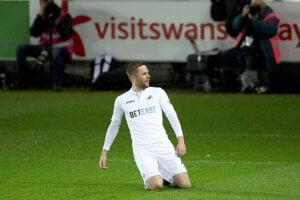 Gylfi Sigurdsson hral skvelo vo Swansea.