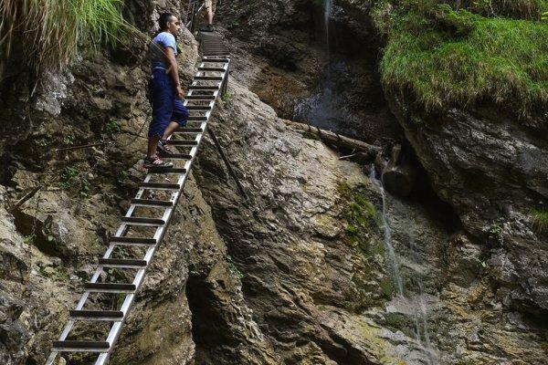 Misové vodopády v Suchej Belej.