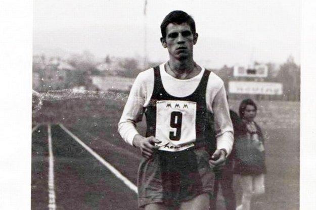 Jeho prvý MMM 28. 10. 1968. Námestie Maratónu mieru - už tu boli