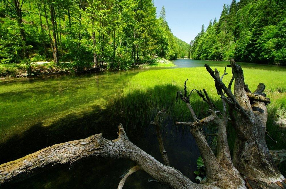 Vodná nádrž Klauzy v srdci Slovenského raja je dnes technickou pamiatkou.