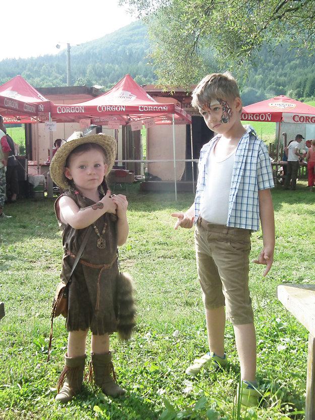 Timejka mala veľmi pekné country oblečenie.