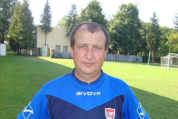Kouč starších dorastencov R. Soboty Ondrej Václavik.