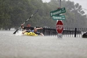Takto vyzerajú ulice Houstonu.