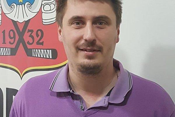 Ervín Mik - prezident HC Topoľčany.