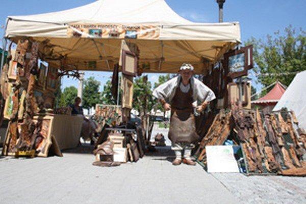Súčasťou Prievidzských mestských dní bola aj Ulička remesiel.