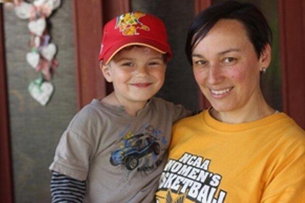 Aktuálna fotka so synčekom Jakubom. Po jeho narodení sa na palubovke už neobjavila.