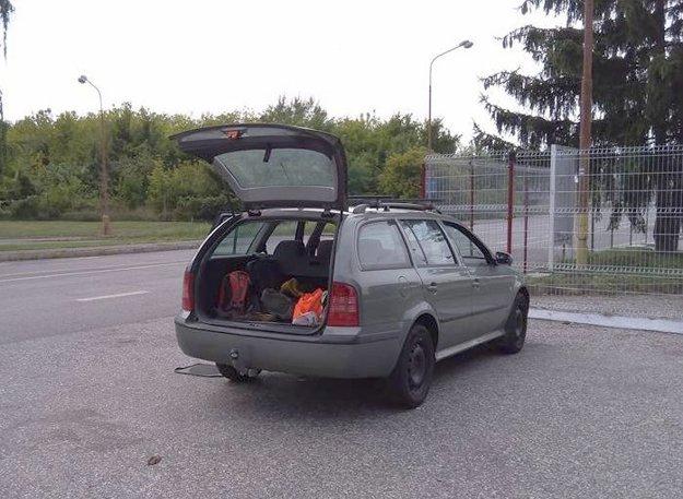 Kontrolované auto.