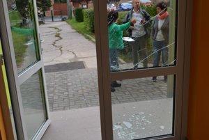 Zistiť, kto stojí za vandalským činom, bude úlohou polície.