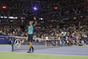 Juhoafričan Kevin Anderson sa stal prvým finalistom US Open.