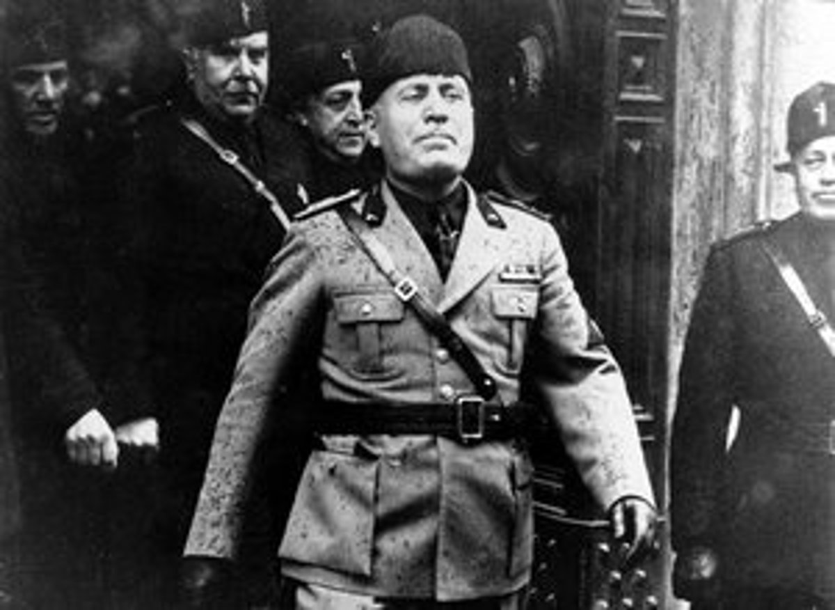the life and contribution of benito mussolini Mussolini & the fascists in ww2 the italian campaign - time-life ww2 series following the overthrow of benito mussolini in 1943.