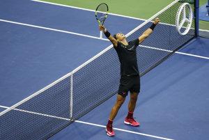 Rafael Nadal vyhral US Open 2017.