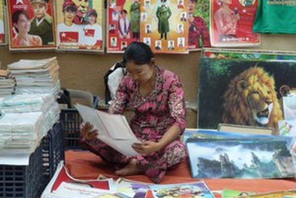 Roky bola Su Ťij v domácom väzení. Dnes majú vďaka nej pouliční predavači biznis.