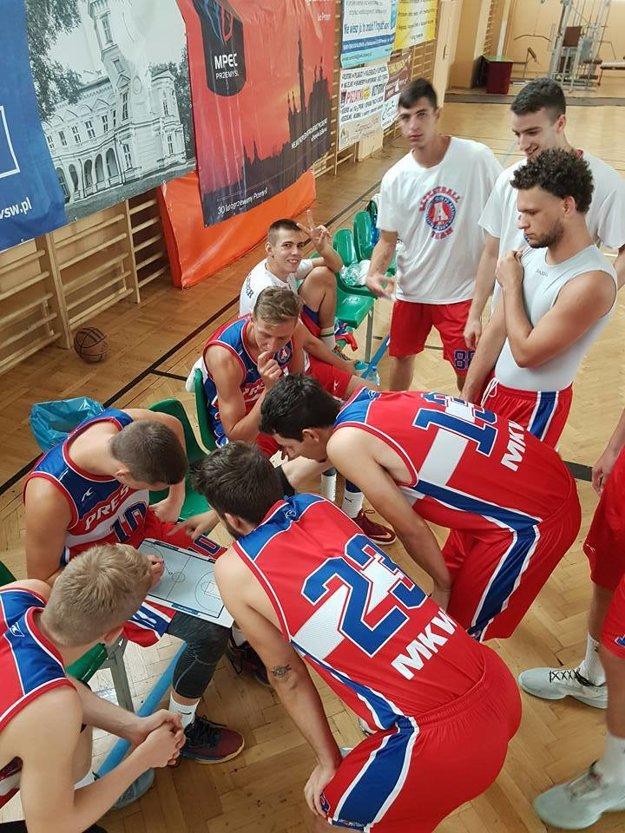 Prešovskí basketbalisti.