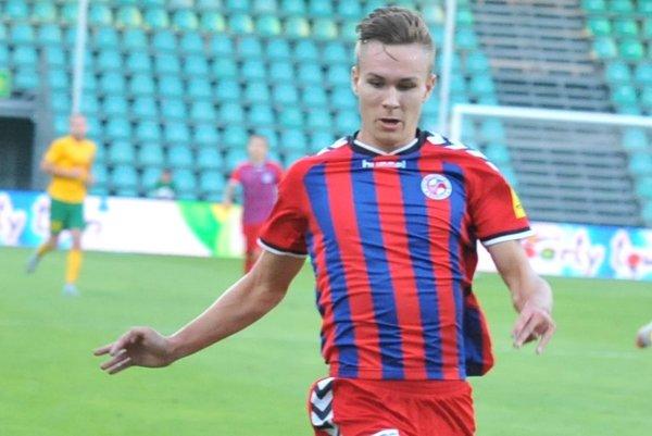 Jakub Čunta ešte v drese FK Senica.
