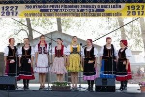 Folklórna skupina Ondavčanka.