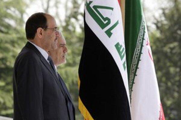 Iracký prezident Malíki navštívil Teherán.