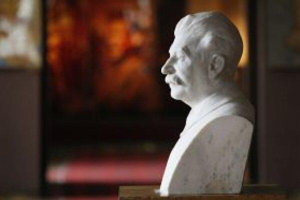 Busta sovietskeho diktátora.