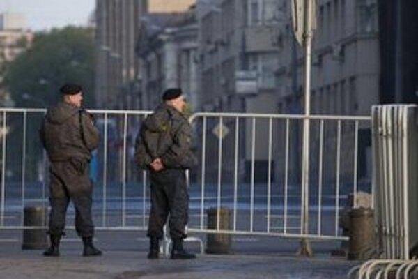V uliciach Moskvy.