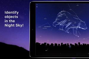 Night Sky na iPade.