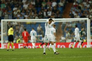 Hráči Realu Madrid senzačne prehrali s Betisom.