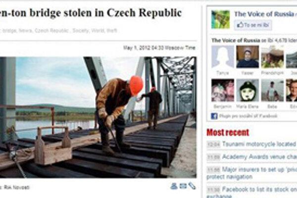 Krádež zaujala celý svet.
