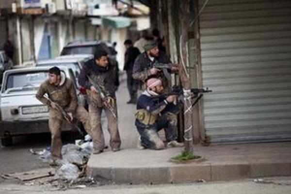 Krvavé povstanie v Sýrii trvá už rok.