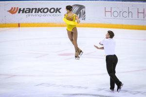 Pár Alexej Rogonov a Kristina Astachovová sú druhí po voľnom programe.