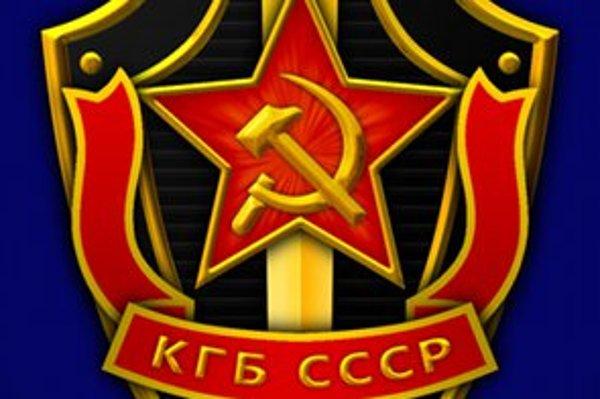 Časť loga KGB.